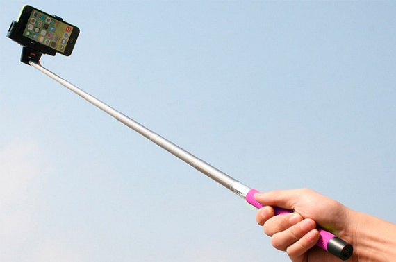The Selfie Stick (and Hairbrush)